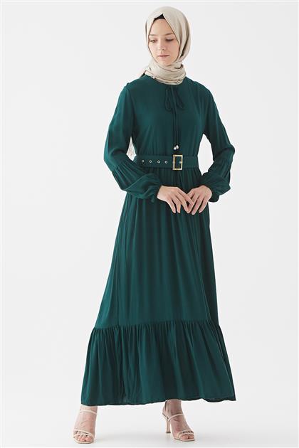1017001-62 فستان-زمردي