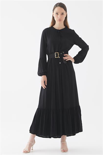 1017001-01 فستان-أسود