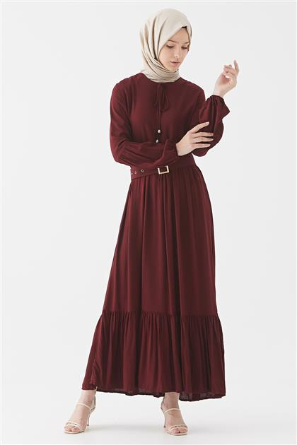 1017001-67 فستان-بوردو