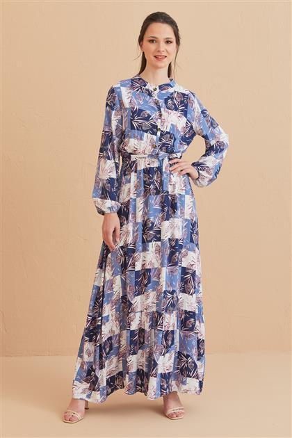 1017003-83 فستان-نيلي