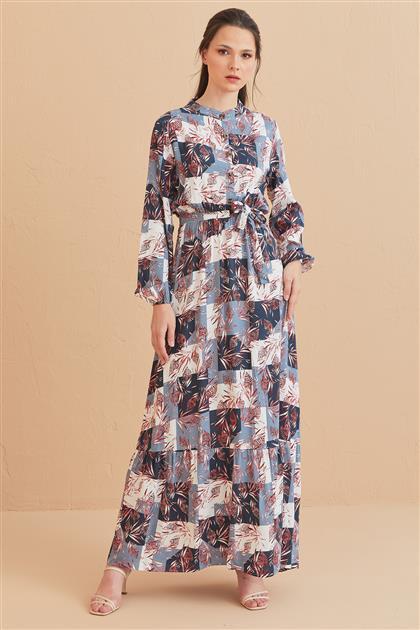 1017003-50 فستان-لون الفحم