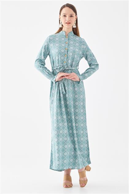 10220005-24 فستان-أخضر