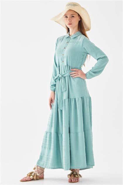 118006-24 فستان-أخضر