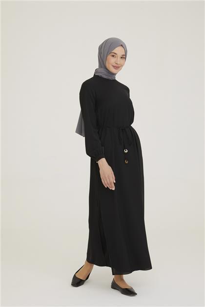Armine İki Katlı Elbise 21Y9229 Siyah