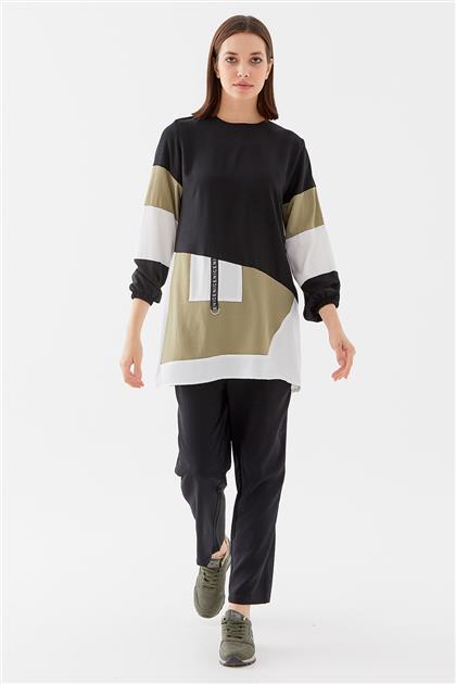 Tunic-Black-Khaki 1210002-01-27