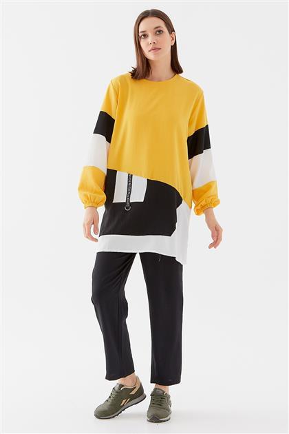 Tunic-Yellow-Black 1210002-29-01