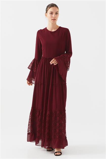 1160674-67 فستان-بوردو