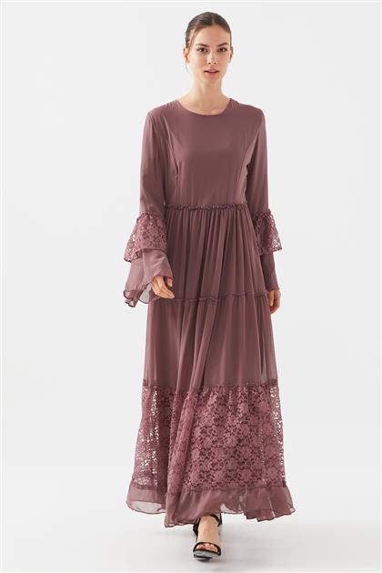 1160674-53 فستان-زهري