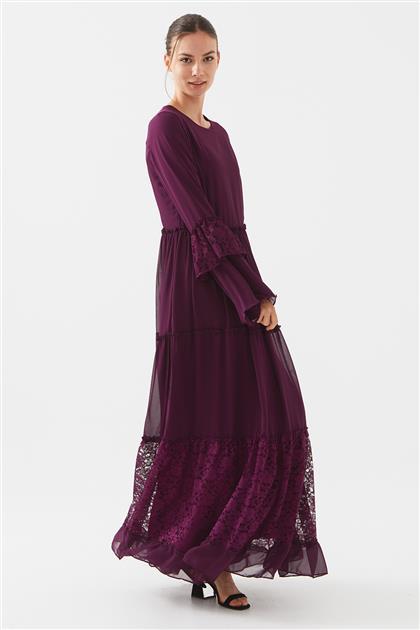 1160674-51 فستان-أرجواني
