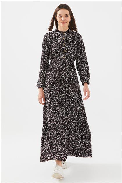 1017004-01 فستان-أسود