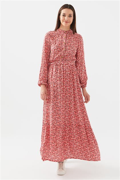 1017004-71 فستان-مرجاني