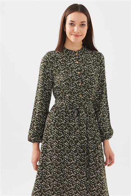 1017004-27 فستان-زيتي