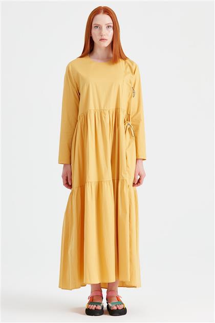 Bağcıklı Poplin Elbise HARDAL ELB.1293.01