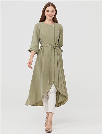 Piliseli Giy-Çık / Ferace Yeşil B21 25040