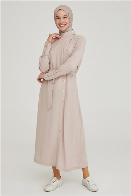 Armine Elbise 21YD3501 Vizon