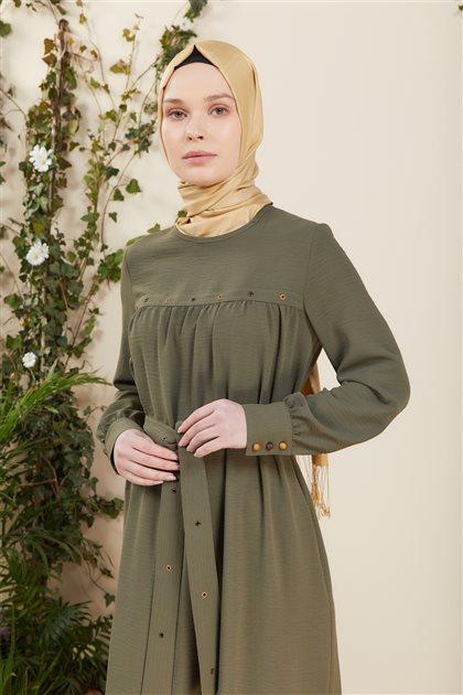 Elbise-Yeşil DO-B21-63006-25