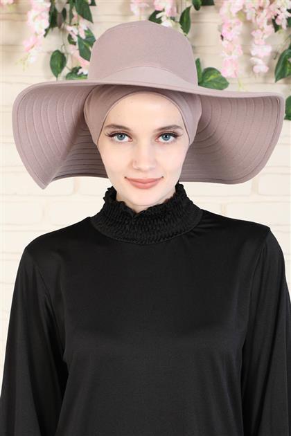 Şapkalı Penye Bone Vizon