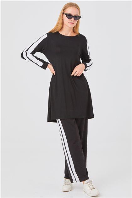 İkili Penye Takım-Siyah 1180018-01