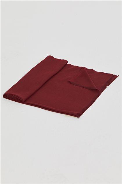 Malezya Düz Renk Şal-Bordo SPR03-67