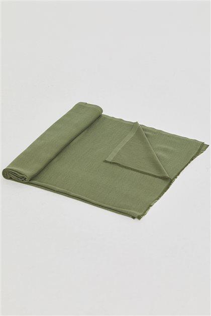 Malezya Düz Renk Şal-Yeşil SPR03-21