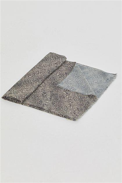 Dijital Leopar Desen Soft Şal-Taş SPR14-48