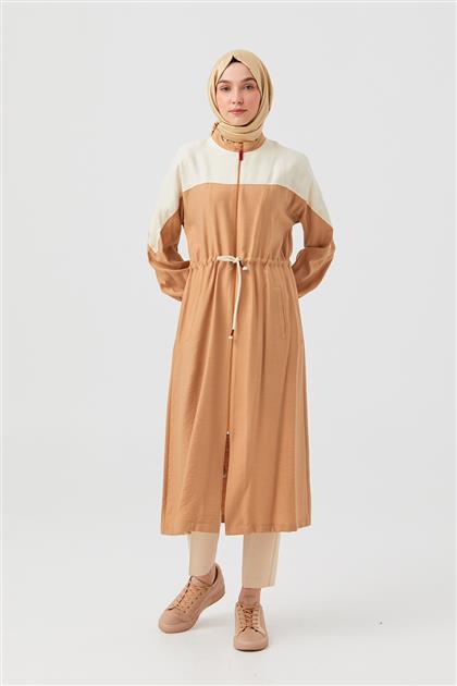 DO-B21-65032-06 ملابس خارجية-بني
