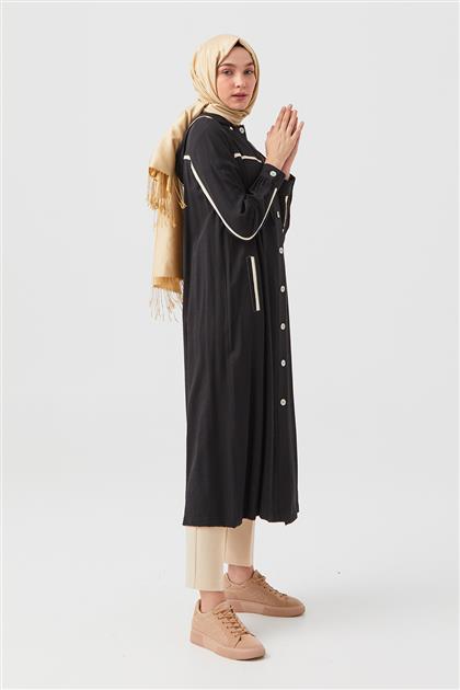 DO-B21-65031-12 ملابس خارجية-أسود