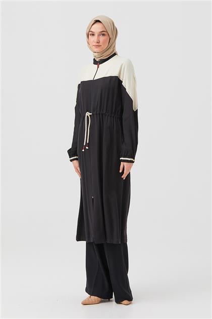 DO-B21-65032-12 ملابس خارجية-أسود