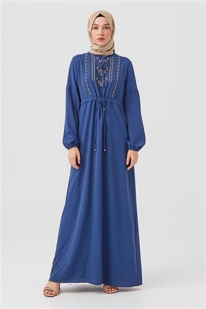 Elbise-İndigo DO-B21-63030-39
