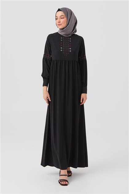Elbise-Siyah DO-B21-63015-12
