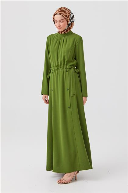 Elbise-Yeşil DO-B21-63007-25