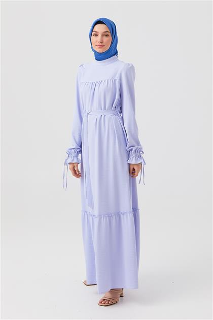 Elbise-Açık Mavi DO-B21-63014-42