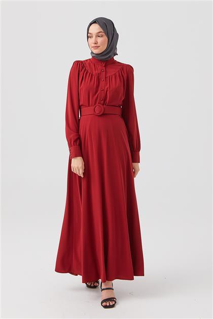 Elbise-Bordo DO-B21-63004-26