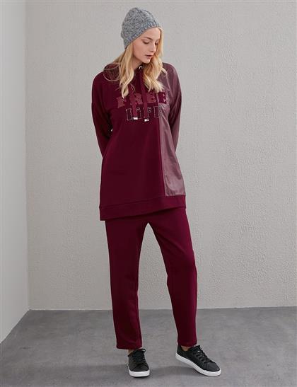 Suit Claret Red A20 16002