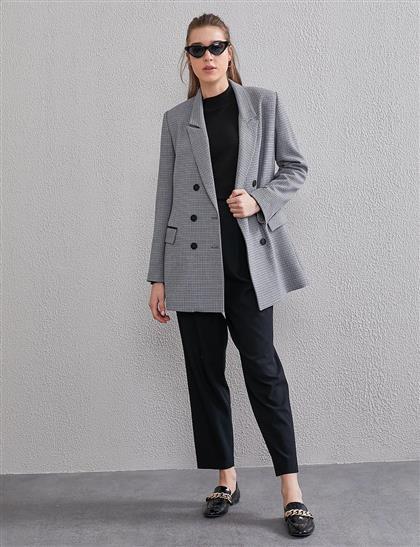 Jacket-Gray Kayra-KA-A20-13108-07