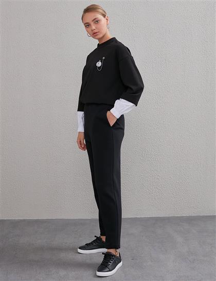 Pantolon-Siyah KA-A20-19129-12