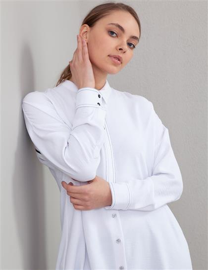 Tunik-Op. Beyaz KA-A20-21106-02