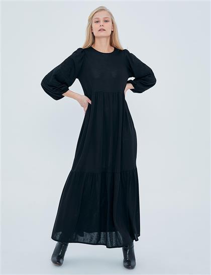 Elbise-Siyah KA-A20-23126-12
