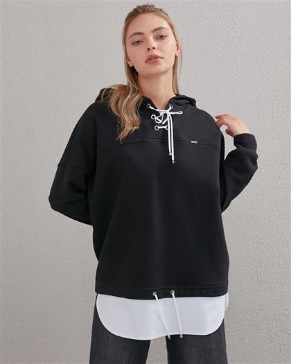 Sweatshırt-Siyah KA-A20-31009-12