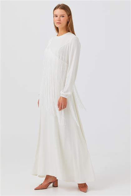 Elbise-Ekru V20YELB17035-20