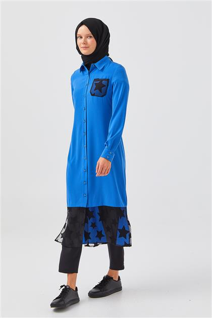 Tunic-Blue V19YTNK45014-06