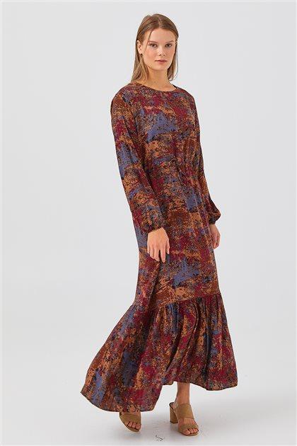 Elbise-Kahverengi 1180038-68