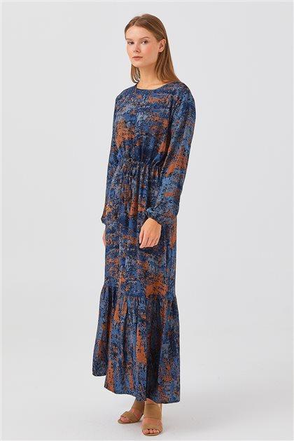 Elbise-Mavi 1180038-70