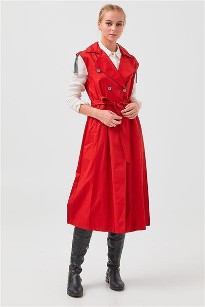 Yelek-Kırmızı V19YYLK47003-11