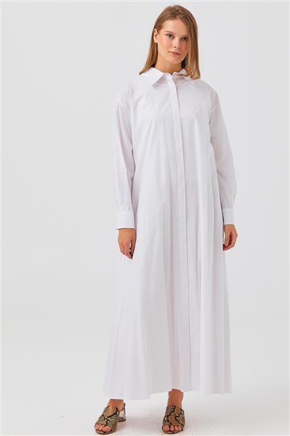 Elbise-Beyaz V21YELB17020-30