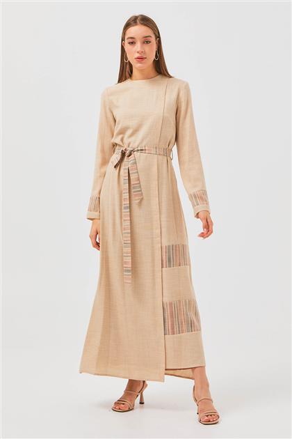Elbise-Bordo S21Y13002-021