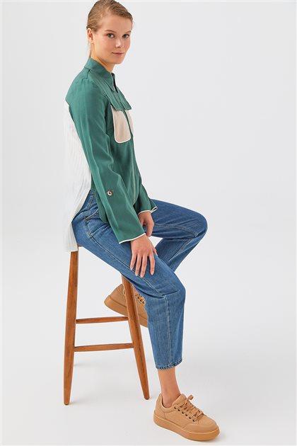 Jacket-Green V20YCKT14008-07-15