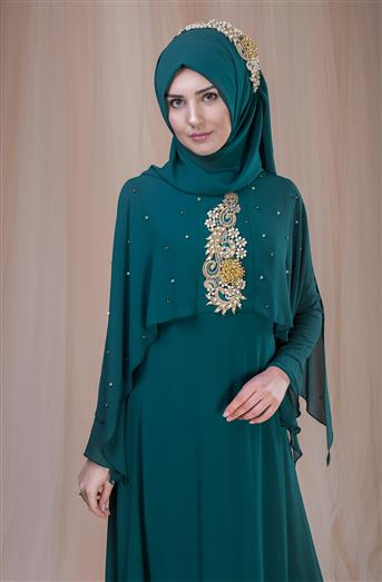 Evening Dress Green