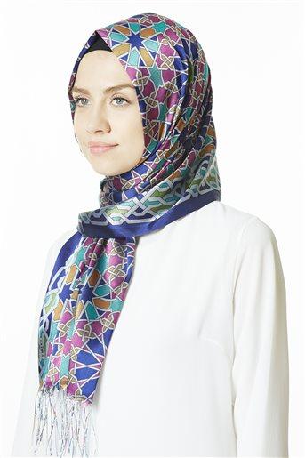 Patterned Shawl 01-45
