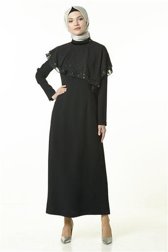 Elbise-Siyah KA-A8-23042-12